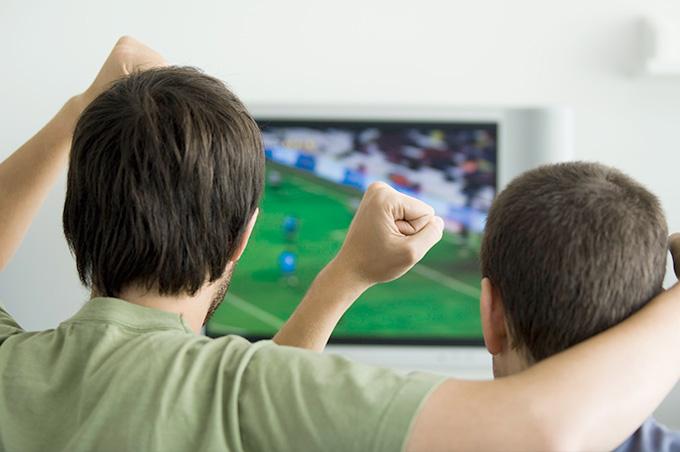 スポーツ観戦も。