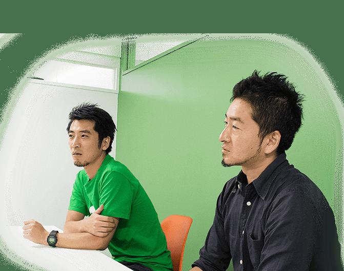 Peatix(Orinoco Peatix株式会社)代表取締役 岩井直文氏、グロースチームマネージャー 庄司望氏 1