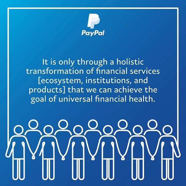 PAYPALの、未来の仕事の財務健全性に関するインフォグラフィック