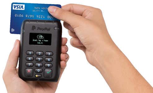 PayPal HERE magnetic stripe