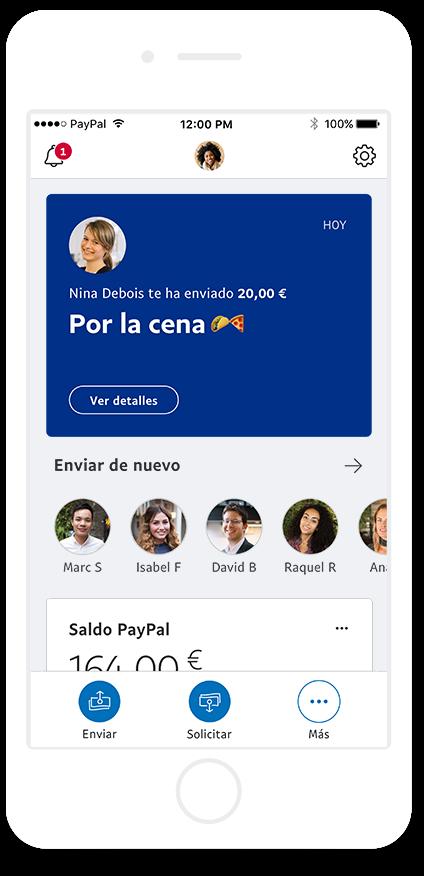 enviar dinero paypal