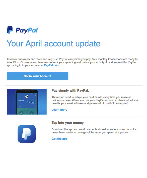 PayPal and Your Data   PayPal BE