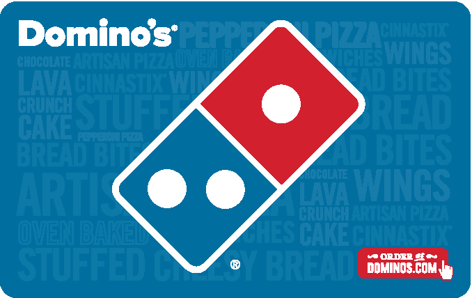Domino's® Pizza Gift Card