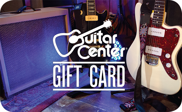 guitar center gift card. Black Bedroom Furniture Sets. Home Design Ideas