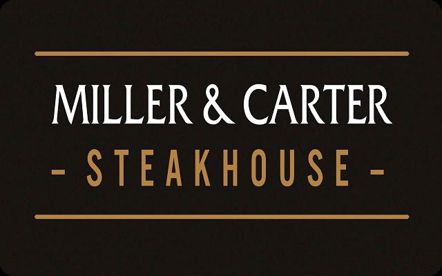 Miller Carter Gift Card