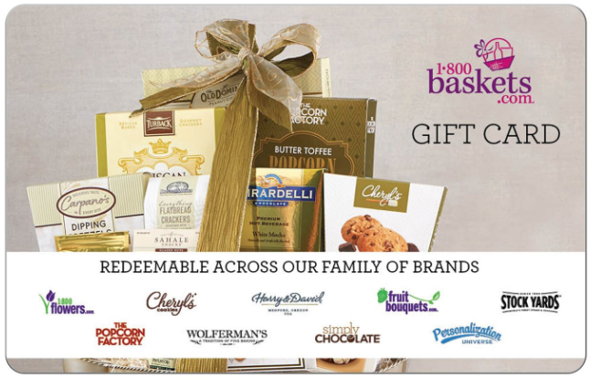 1-800-Baskets.com Gift Card