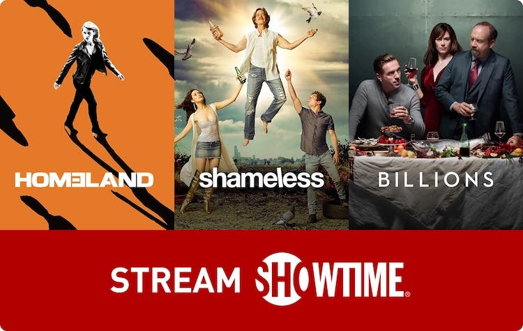 shop HBO ShowTime Stream Gift Card with crypto, pay with bitcoin
