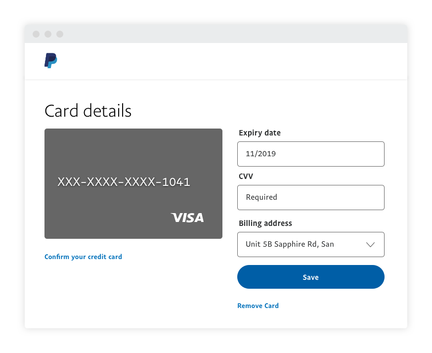 Paypal Guide How To Link A Credit Or Debit Card Paypal Philippines