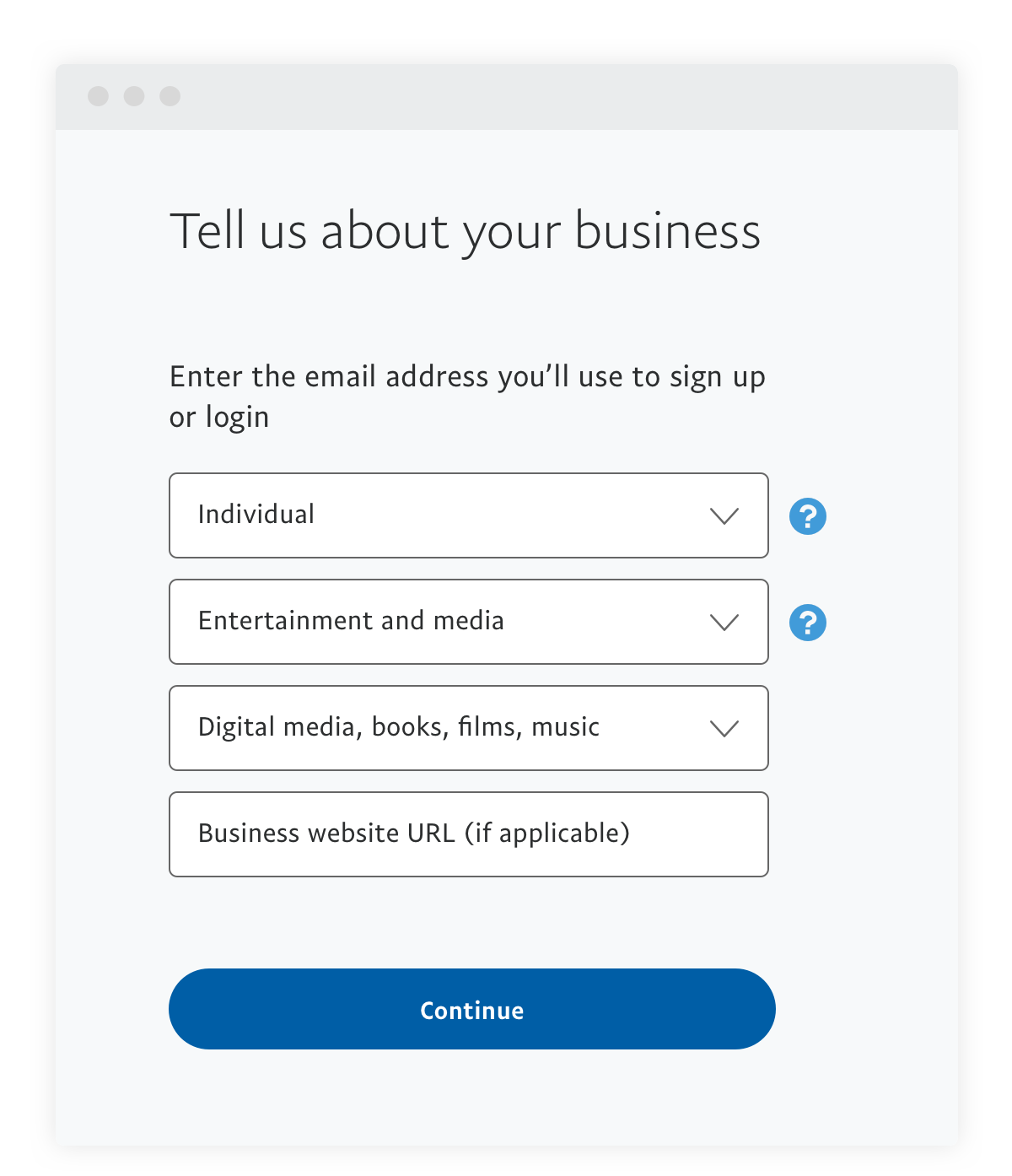 How To Sign Up For A Business Account