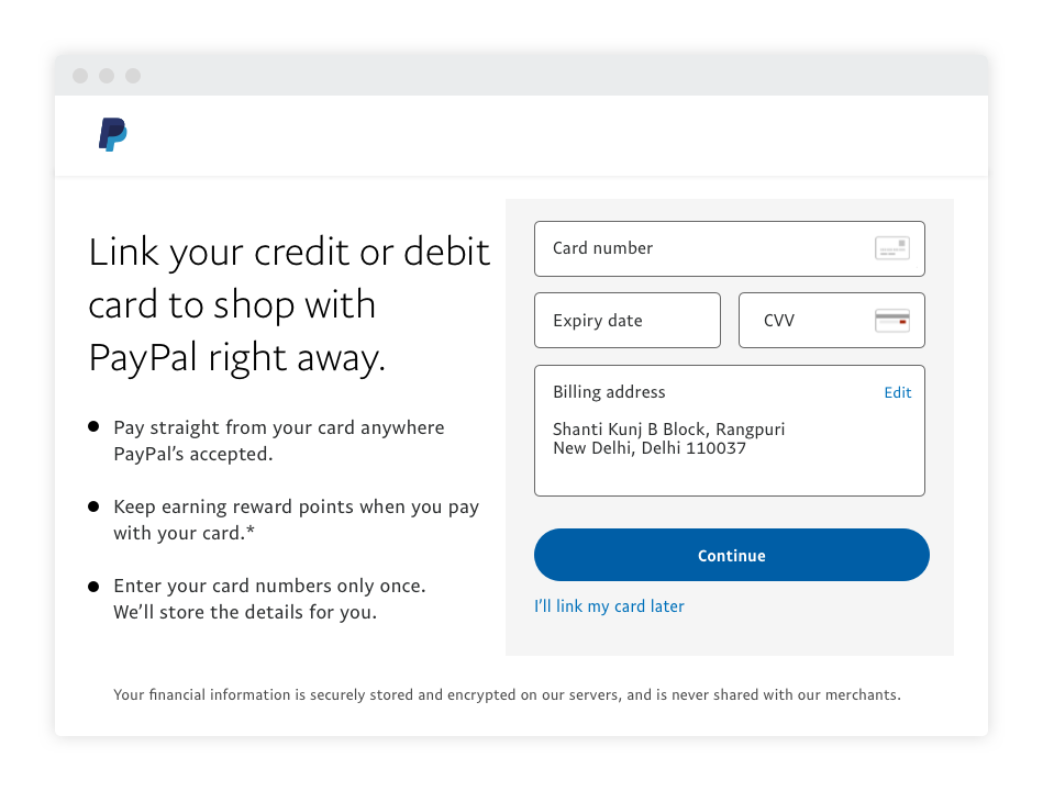 how to use paypal in website