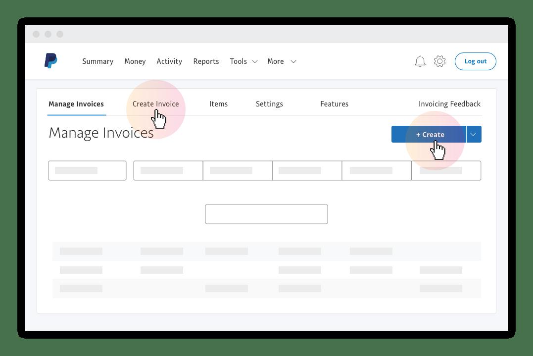 Online Invoice Create