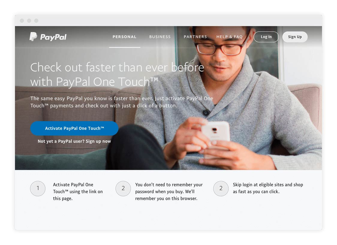 activate-paypal-one-touch-steps