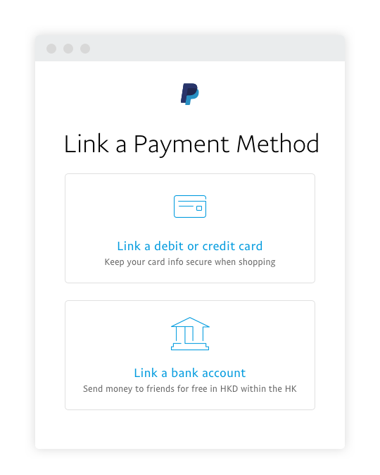 link-bank-account