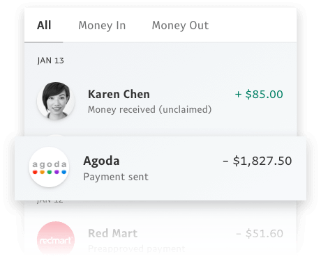 Keep track of your money.
