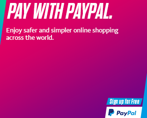 Pay With PayPal safe hai 300x240