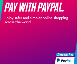 Pay With PayPal safe hai 300x250