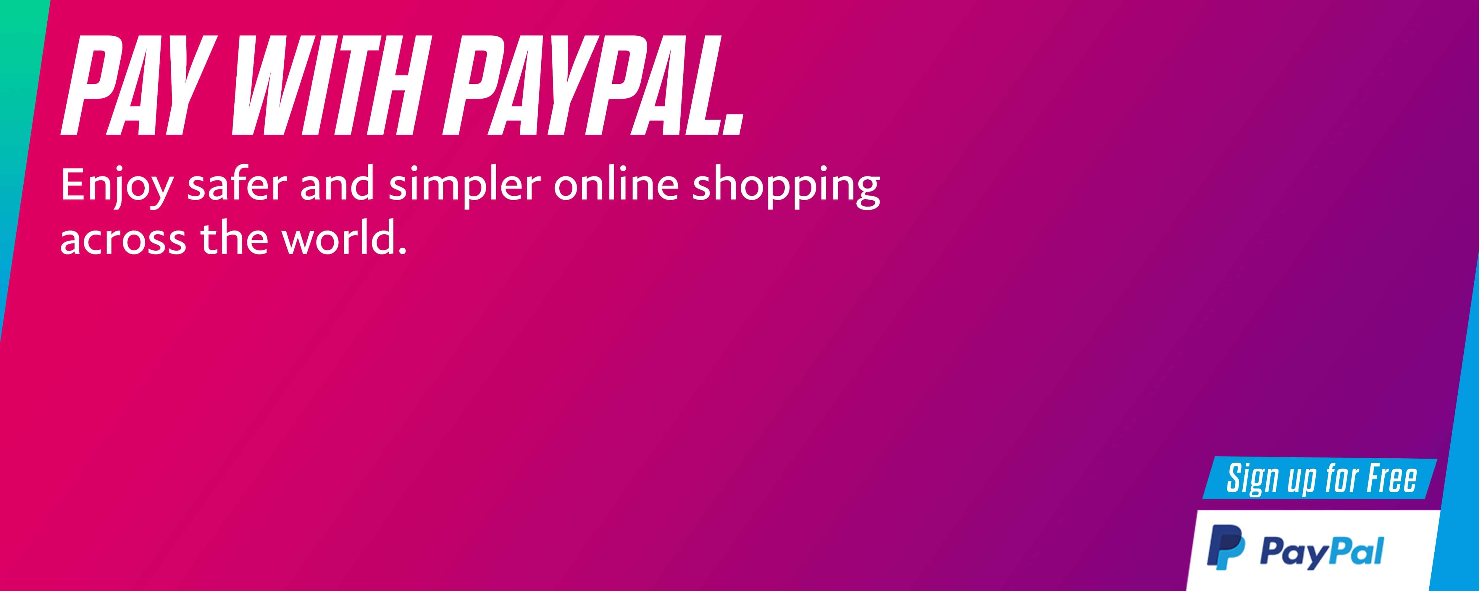 Pay With PayPal safe hai 5000x2000