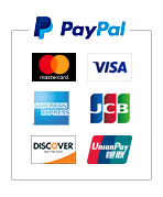 PayPal(ペイパル)|Mastercard, VISA, American Express, Discover, UnionPay, JCB