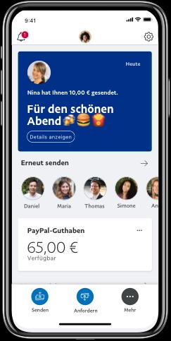 Paypal App Geld Senden Und Empfangen Paypal De