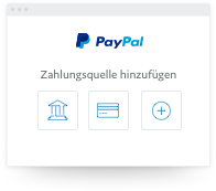 paypal 2 accounts 1 konto