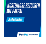 kostenlose Retouren von Schornstein-Zentrallager mit Paypal