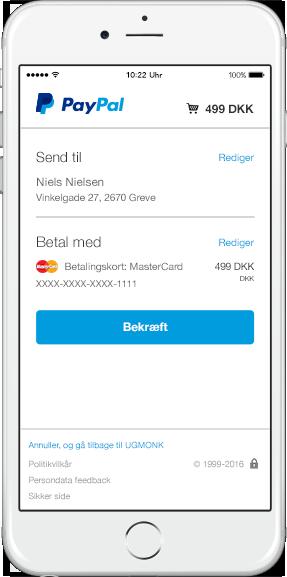 Online aktiehandel med PayPal