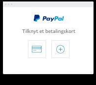 paypal uden konto