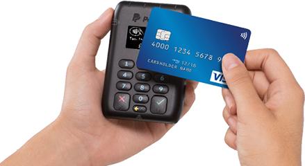paypal card machine uk