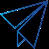 Symbol Senden Sie die E-Mail-Rechnung an Ihre Kunden