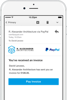 Invoice Templates Invoice Generator PayPal UK - What is a invoice on paypal for service business