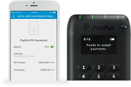 Paypal Mobile Card Reader >> How To Use Paypal Card Reader Paypal Uk