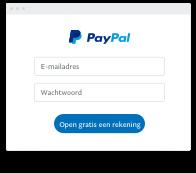 hoe maak ik een paypal aan