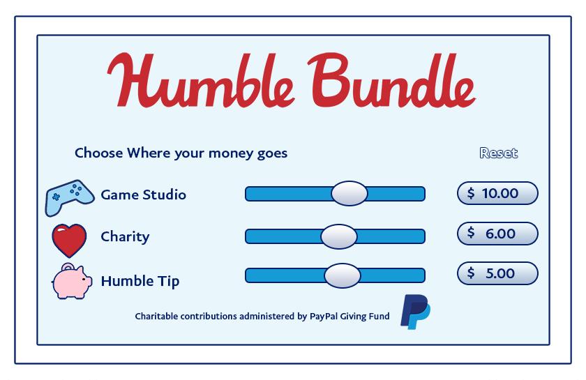PayPal Humble Bundle