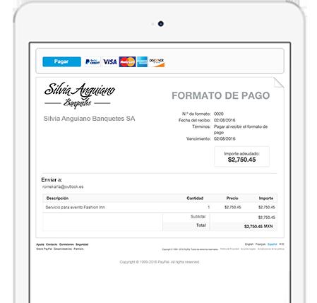 Cobrar y enviar pagos por email - PayPal MX