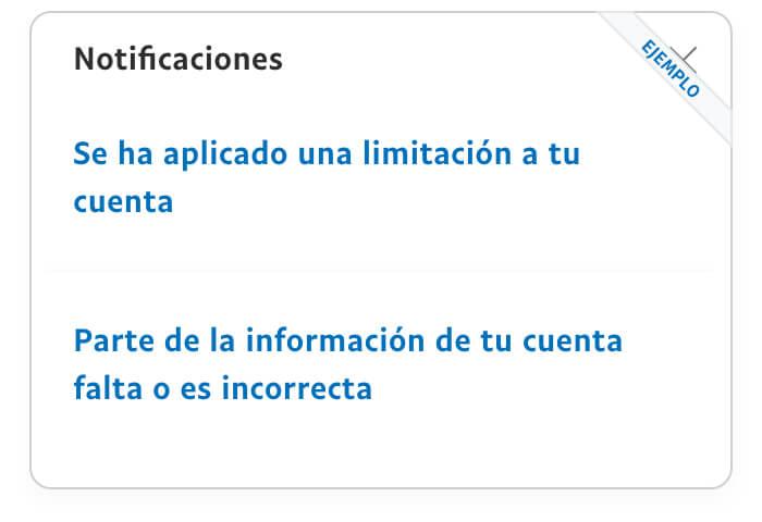 Ejemplo de imagen de notificaciones