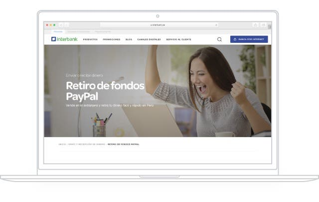 Link your PayPal account to your bank account on desktop