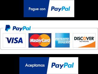Logos de aceptación de PayPal