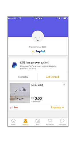 KIJIJI Meetups Made Even Easier by Paying with PayPal