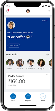 How to setup a paypal account to send money from one bank to another