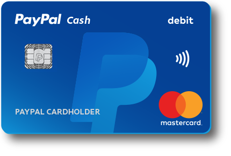 Get the new debit card from PayPal with added account features