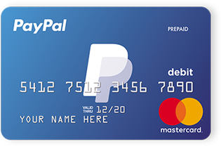 transfer money from your paypal balance to your paypal prepaid card - Order Prepaid Card