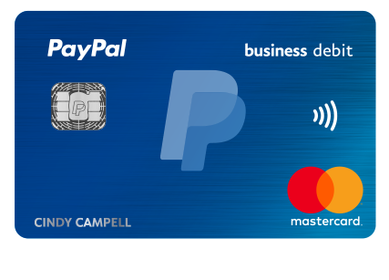 Paypal business debit mastercard earn 1 cash back paypal us get the card that can help you get things done reheart Choice Image