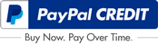 PayPal Credit Button Example 172x50px