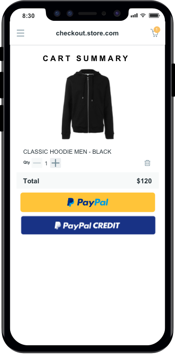 Stores That Accept Paypal Credit Online >> Send Money Pay Online Or Set Up A Merchant Account Paypal