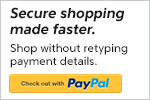 Pay with Confidence & Security with PayPal