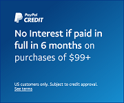 No interest if paid in full in 6 months on purchases of $99+