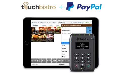 Paypal Point Of Sale Touchbistro Restaurant Pos System