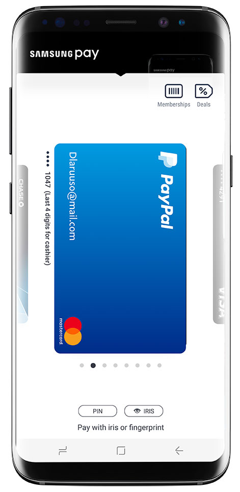 Link Your PayPal Account to Samsung Pay