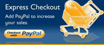PayPal Express Checkout: Add PayPal to increase your sales.