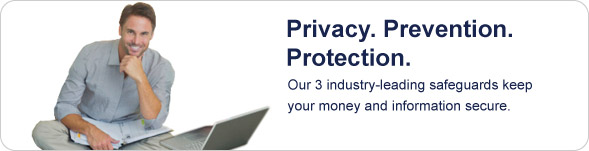 Privacy. Prevention. Protection. Our three industry-leading safeguards help ensure your money and information stays safe when you pay with PayPal.